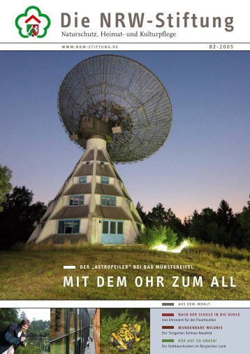 PDF (4,6 MB) - NRW-Stiftung
