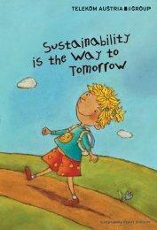 Sustainability Report 2008/09 - Telekom Austria Group