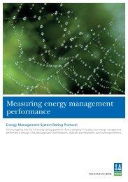 Measuring energy management performance - Dnv