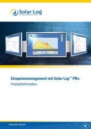 Datenblatt 500 PMU - German Solar