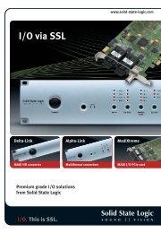 I/O via SSL - Advanced Audio