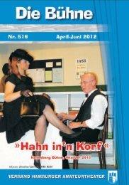 Bühne 2012.2_Nr.516 - Verband Hamburger Amateurtheater eV