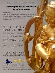 T u e s d a y July 20, 2010 - California Art Auction