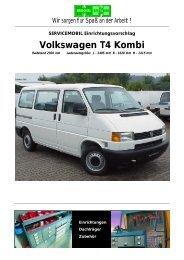 Volkswagen T4 Kombi - thoma mobil