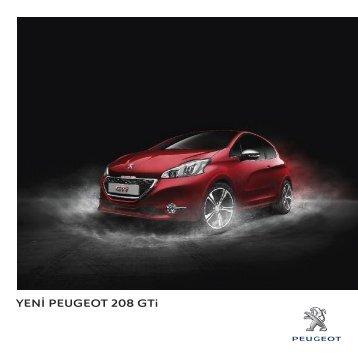 208 GTi broşürü - Peugeot