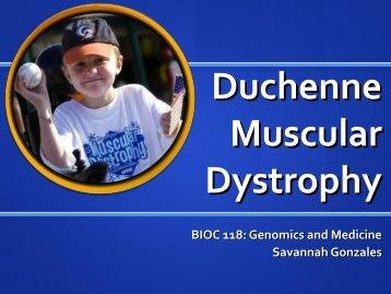 Savannah Gonzales - Duchenne Muscular Dystrophy
