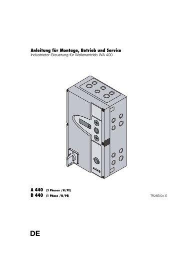 Steuerung Industrie-Sectionaltor A B440