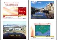 Ghent, Belgium Québec, Canada - Chaire de recherche du Canada ...