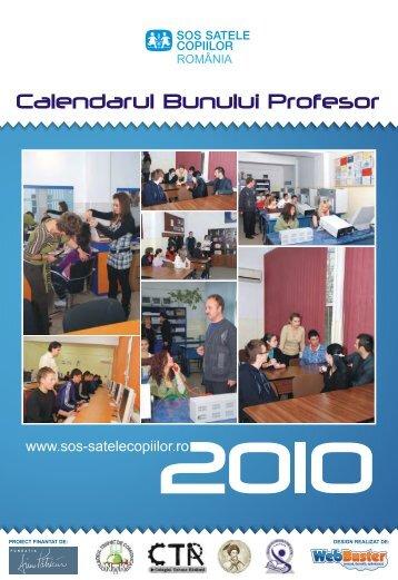 Calendarul Bunului Profesor