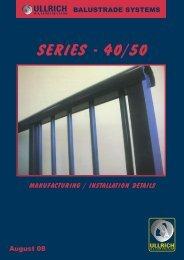 Balustrade Systems - Ullrich Aluminium