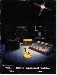 Carvin_Mixers_1979 - Preservation Sound