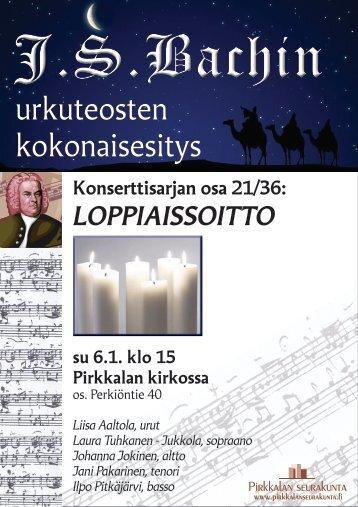 LOPPIAISSOITTO - Pirkkalan seurakunta