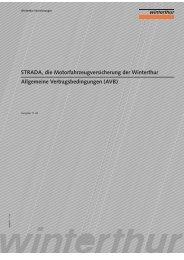 STRADA, die Motorfahrzeugversicherung der Winterthur Allgemeine ...