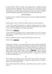 Na temelju članka 6. Odluke o uvjetima i načinu prodaje stanova u ...