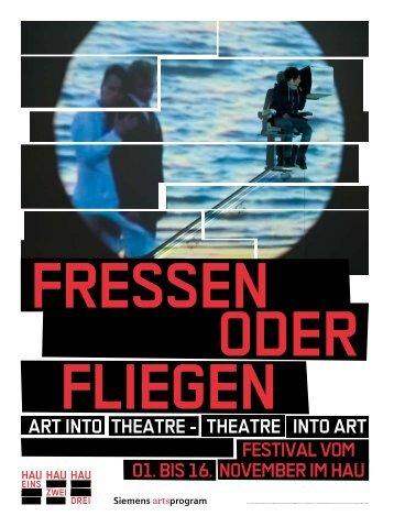 theatre into art - Christoph Schlingensief