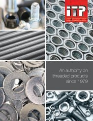 ITP Tri Fold - Industrial Threaded Products, Inc.