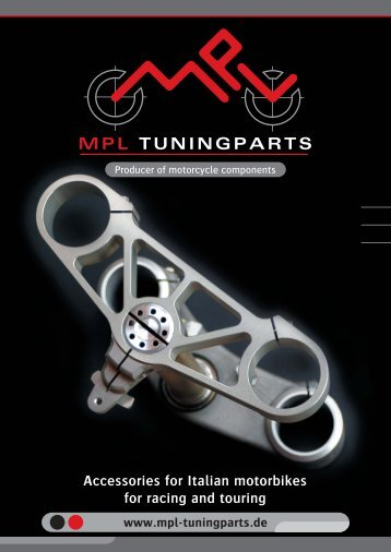 Catalogue 2010 Edition 8 - MPL-Tuningparts