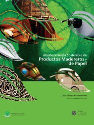 Productos Madereros y de Papel - World Resources Institute