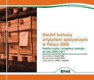 Handel hurtowy artykułami spożywczymi w ... - PMR Publications