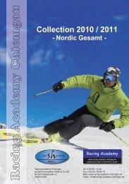 Collection 2010 / 2011 - Nordic Gesamt - racing academy chiemgau