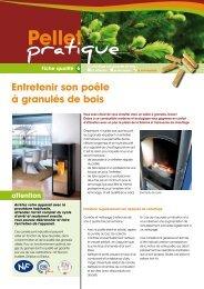 Entretenir son poêle à granulés de bois - ALE-Montpellier