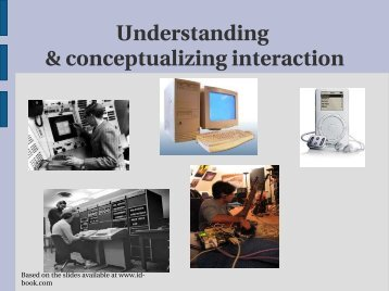 Understanding & conceptualizing interaction