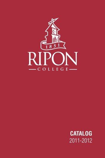CATALOG 2011-2012 - Ripon College