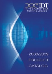 products - Integrated DNA Technologies