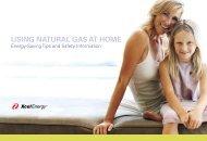 USING NATURAL GAS AT HOME Energy-Saving Tips - Pepsi Center