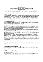 Kandidatuddannelsen i Socialt Arbejde, 2010 - Det ...