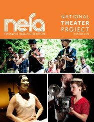 theater - New England Foundation for the Arts