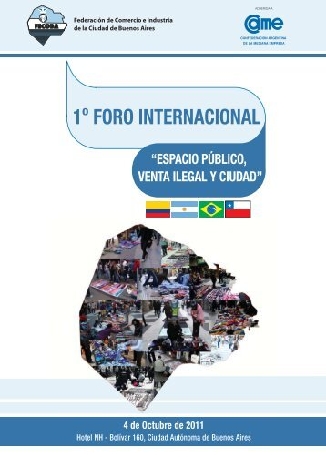 1o FORO INTERNACIONAL - Confederación Argentina de la ...