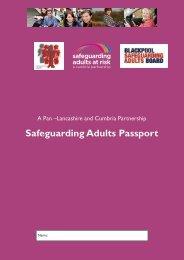 Safeguarding Adults Passport