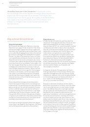Akquisitionen & Investitionen - Annual Report 2012