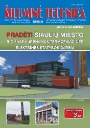 Šilumine technika (47).pdf - Lietuvos šilumos tiekėjų asociacija (LŠTA)