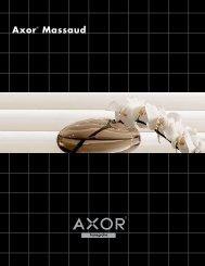 Axor Massaud brochure - Hansgrohe