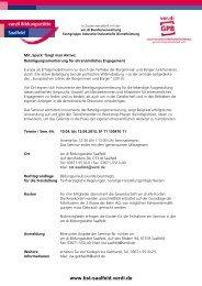 Mit 'Speck' - Fachbereich Medien, Kunst und Industrie - Ver.di