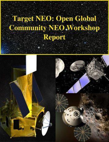 Target NEO: Open Global Community NEO Workshop Report