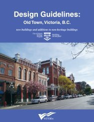 Old Town Design Guidelines - Victoria