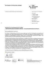 Programm - Anmeldung - WFB Wirtschaftsförderung Bremen GmbH