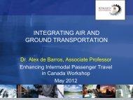 Dr. Alex DeBarros, Associate Professor, University of Calgary