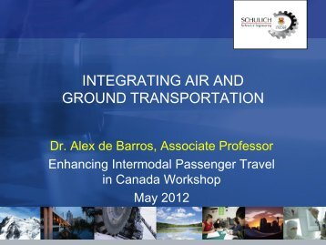 Dr. Alex DeBarros, Associate Professor, University of Calgary
