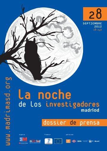 dossier prensa noche 2012.qxd - Madri+d