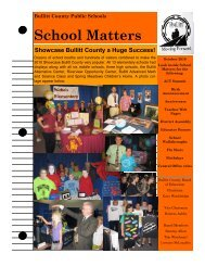 School Matters (October 2010) - Bullitt County Public Schools