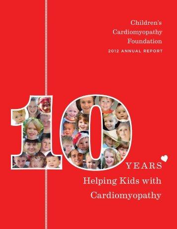 2012 - Children's Cardiomyopathy Foundation