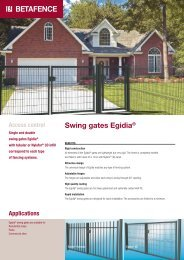 Swing gates Egidia® - Fagel