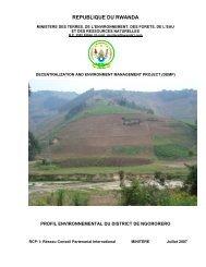 Rapport PED Ngororero version définitive - REMA