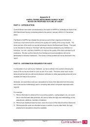 APPENDIX D - Tertiary Education Facilities Management Association