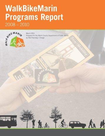 Marin Programs Final Report.pdf - Walk Bike Marin!