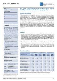 Zusammenfassung des Ratingberichts - Euler Hermes Rating ...
